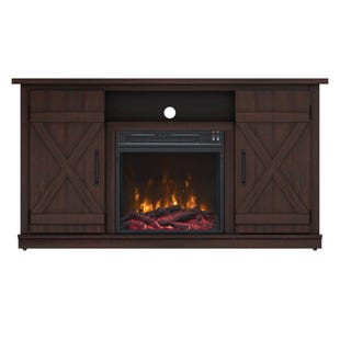 "Cottonwood Espresso 47"" Fireplace TV Stand"