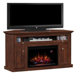 "Windsor Antique Cherry 46"" Fireplace TV Stand"