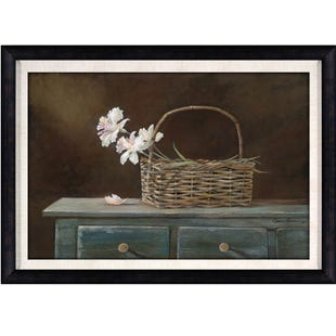 Patton Country Framed Floral Art