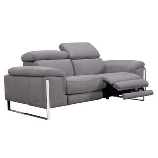 Sophie Gray Power Loveseat and Headrest