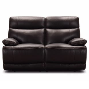 Louie Ranch Brown Top Grain Leather Power Reclining Loveseat