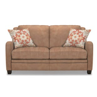 Paxton Leather Loveseat