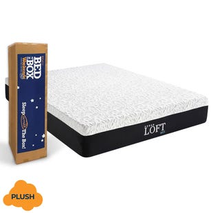 "IRemedy 12"" ICE Gel Memory Foam Plush Mattress"