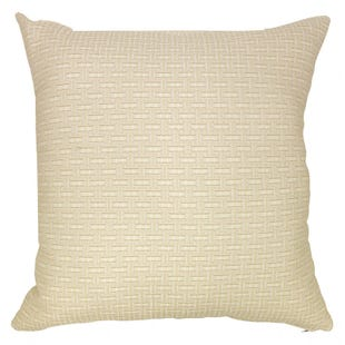 Light Beige Linen Indoor/Outdoor Pillow