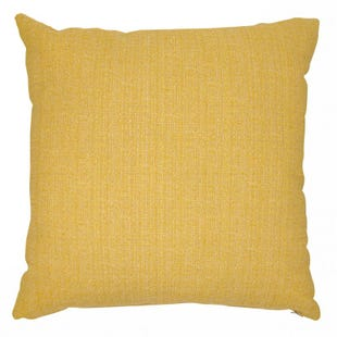 Butter Yellow Linen Indoor/Outdoor Pillow