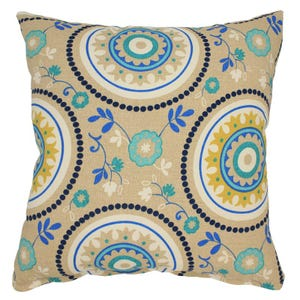 "Mosaic Indoor/Outdoor 18"" Pillow"