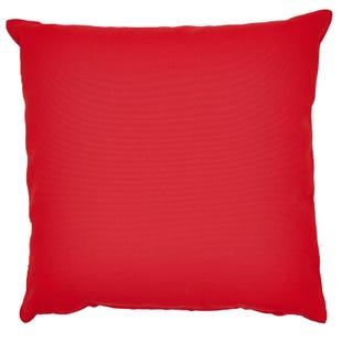 Solid Red In/Outdoor Pillow