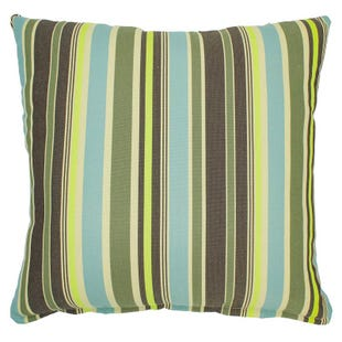 Stripe Green In/Outdoor Pillow