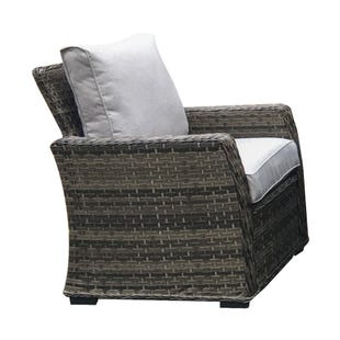 Caspian Wicker Outdoor Taupe Chair