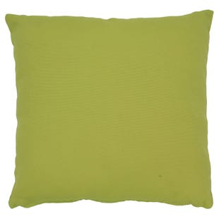 "Solid Green Indoor/Outdoor 18"" Pillow"