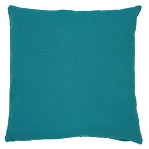 "Solid Blue Indoor/Outdoor 18"" Pillow"