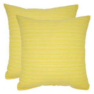 Yellow Indoor/Outdoor Pillow