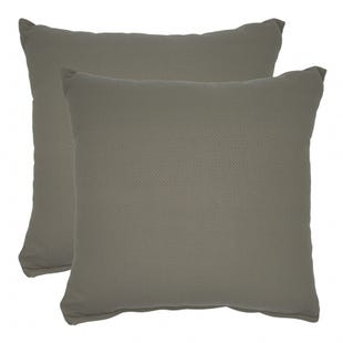 Solid Beige Indoor/Outdoor Pillow
