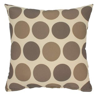 "Polka Dots Indoor/Outdoor 18"" Pillow"