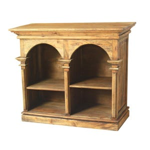 Versailles Double Wood Bookcase