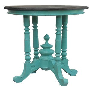 Doran Blue Round Table