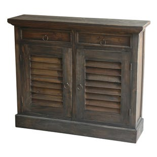 Sophie Wood Shutter Door Cabinet