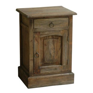 Rand Wood Door Cabinet with Drawer