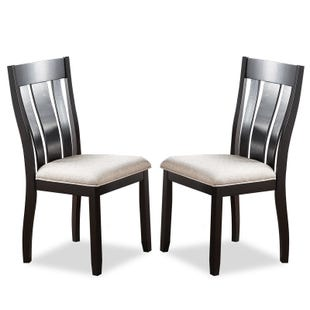 Ventura Set of 2 Contemporary Upholstered Dining Stools