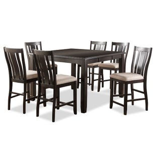 Ventura 7 Piece Contemporary Counter Height Dining Set