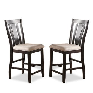 Ventura Set of 2 Contemporary Counter Height Dining Stools