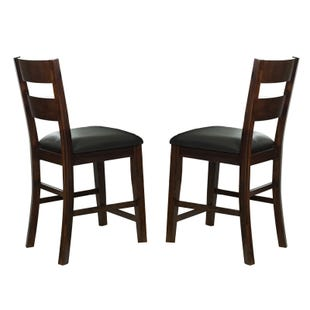 "Alpine Ridge 24"" Contemporary Set of 2 Pub Stools"