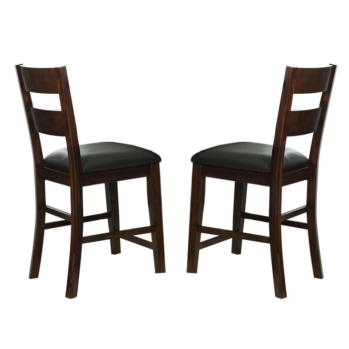 Alpine Ridge 24 Contemporary Set Of 2 Pub Stools Weekends Only