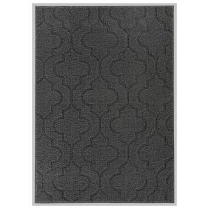 Brentwood Double Quatrefoil Cinder 5x7 Indoor/Outdoor Rug