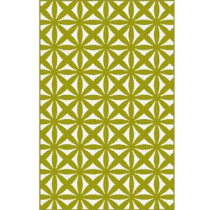 Garland Bright Eyes Suzy Lime 5x8 Rug