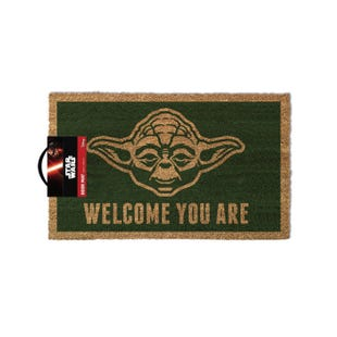 Yoda Welcome Coir Doormat