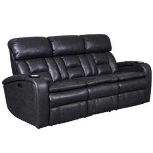 Optimus Reclining Sofa With Headrest