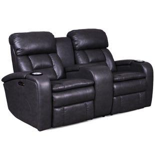 Optimus Power Reclining Loveseat with Power Headrest