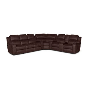 Hunter Chocolate Dual Power Reclining Sectional