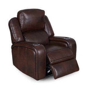 Hunter Chocolate Brown Power Recliner