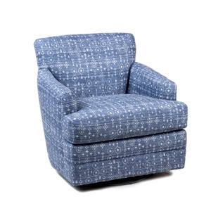 Taos Navy Swivel Chair