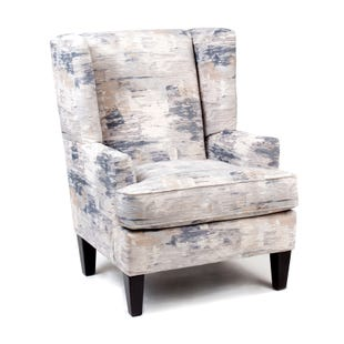 Dine Charcoal Wing Chair