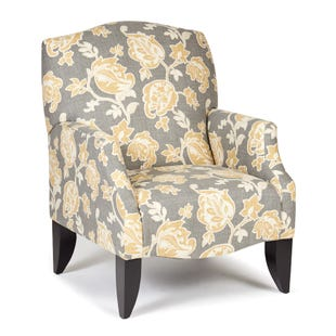 Matador Yellow Accent Chair