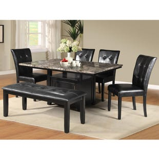 Willit 6 Piece Counter Height Set
