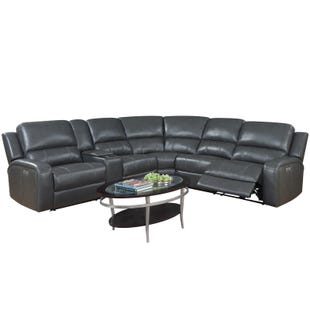 Aria Gray Power Reclining Sectional