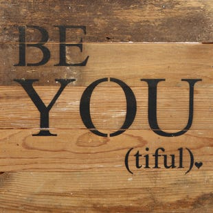 Be-You-Tiful Wood Wall Art