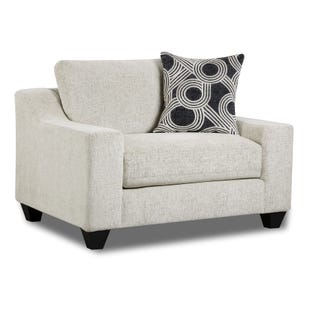 Tempe Cream Chenille Chair