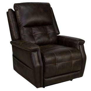 Levi II Badlands Walnut Power Lift Recliner