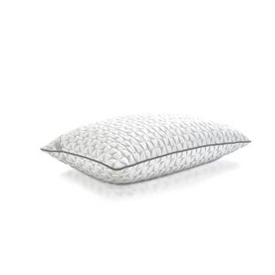 Ultra Cool Extra Low Loft Memory Foam Queen Size Pillow