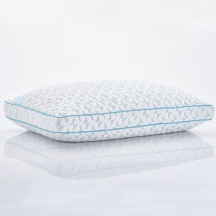 Ultra Cool High Loft Memory Foam Queen Size Pillow