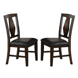 Tuscan Hills Brown Set of 2 Chairs