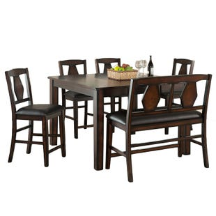 Tuscan Hills Extendable 6 Piece Counter Height Dining Set
