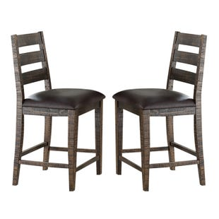 Glenwood Set of 2 Wood Stools