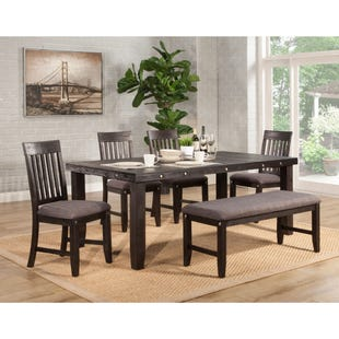 LaSalle Espresso 6 Piece Dining Set