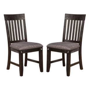 LaSalle Espresso Set of 2 Chairs