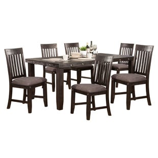LaSalle Espresso 7 Piece Dining Set